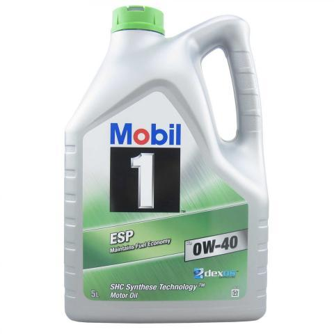 Motorový olej Mobil 1 ESP X3 0W-40 5L.