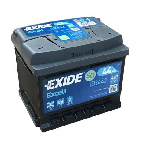 Autobateria Exide Excell 12V 44Ah 420A EB442