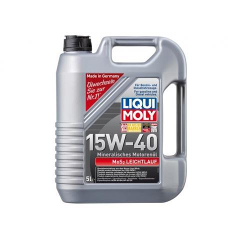 Liqui Moly 2571 Motorový olej 15W-40 MoS2 5L