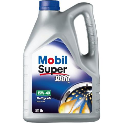 motorový olej MOBIL Super 1000 X1 15W-40 5L