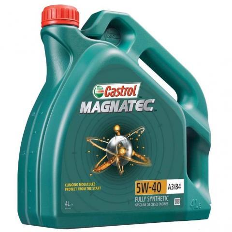 Motorový olej Castrol Magnatec A3/B4 5W-40 4L.