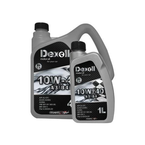 Motorový olej Dexoll 10W-40 A3/B4 4L.