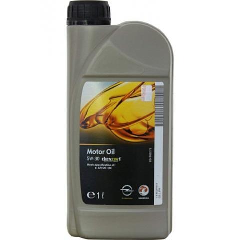 Motorový olej Opel GM Dexos 1 gen2 5w-30 1L.