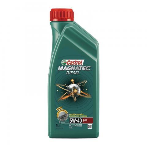 Motorový olej CASTROL MAGNATEC DIESEL  5W-40 DPF 1 L