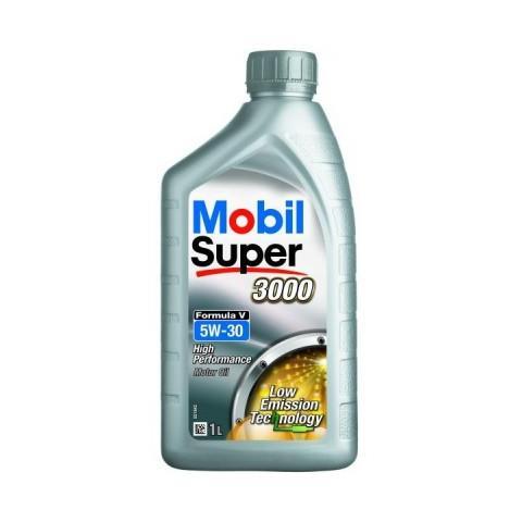 Motorový olej Mobil Super 3000 Formula V 5W30 1L.