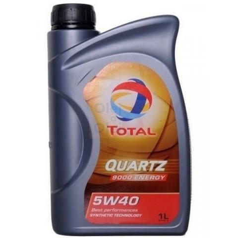 Motorový olej TOTAL QUARTZ 9000 Energy 5W-40 1L.