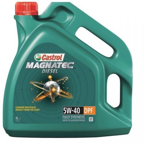 Motorový olej CASTROL MAGNATEC DIESEL  5W-40 DPF 4L