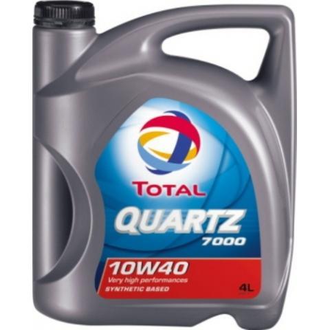 Motorový olej TOTAL QUARTZ 7000 10W-40 4L.