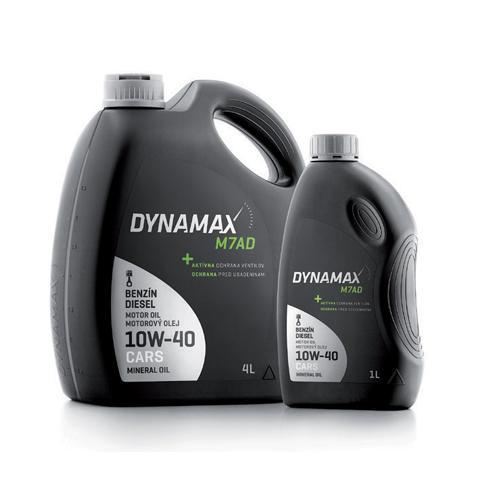 Motorový olej DYNAMAX M7AD 10W-40 4L.