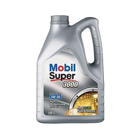 Motorový olej Mobil super 3000 formula fe 5w-30 5L.