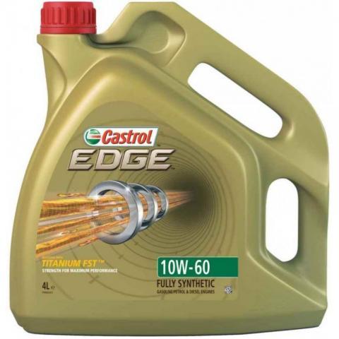 Motorový olej CASTROL EDGE Titanium FST  10W-60 4L.