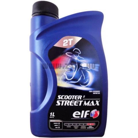 Motorový olej ELF Scooter 2 Street Max 1L.