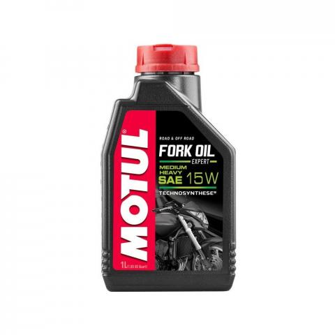 Motul Moto Fork Oil Expert Medium Heavy 15W  1L.