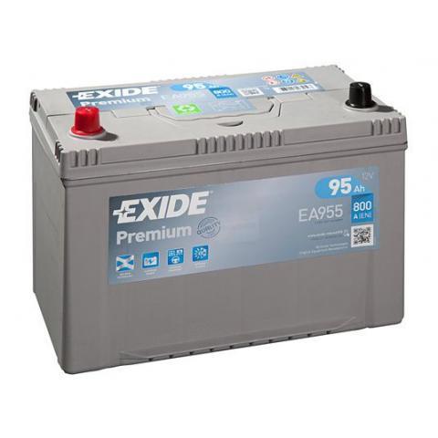Autobatéria Exide Premium 12V 95Ah 800A, EA955
