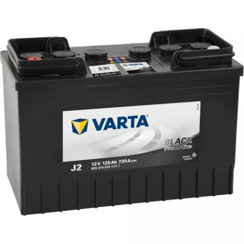 Autobateria VARTA PROMOTIVE BLACK 125Ah, 720A, 12V, 625014072