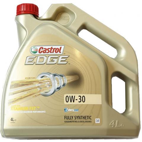 motorový olej CASTROL EDGE Titanium FST 0W-30 4L