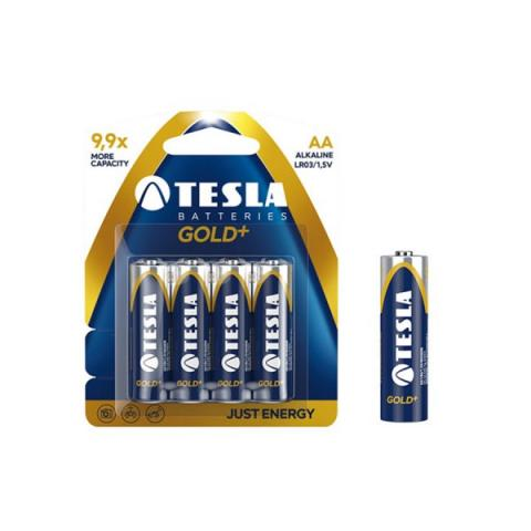 Tesla TESLA AAA GOLD+ Alkaline 4ks blister