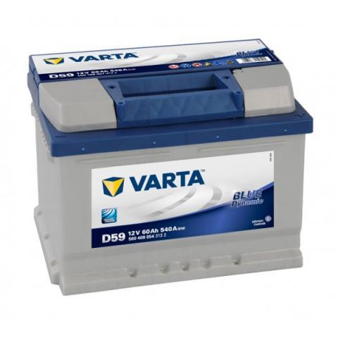 Autobatéria VARTA BLUE dynamic D59 12V 60Ah 540A