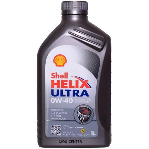 Motorový olej Shell Helix Ultra 0W-40, 1L