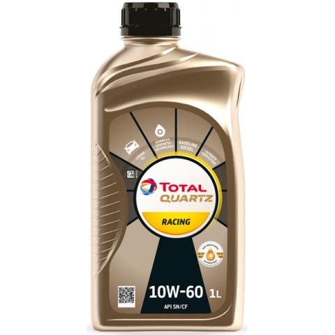 Motorový olej Total Quartz Racing 10W-60 1L.