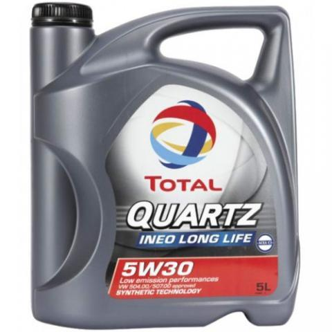 TOTAL Quartz  INEO LONG LIFE 504/507 5W-30 5L. /Min. 1.karton/