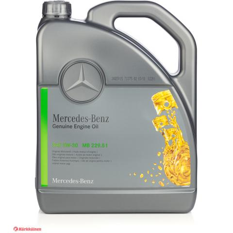 Mercedes-Benz MB 229.51 5W-30 5 l.
