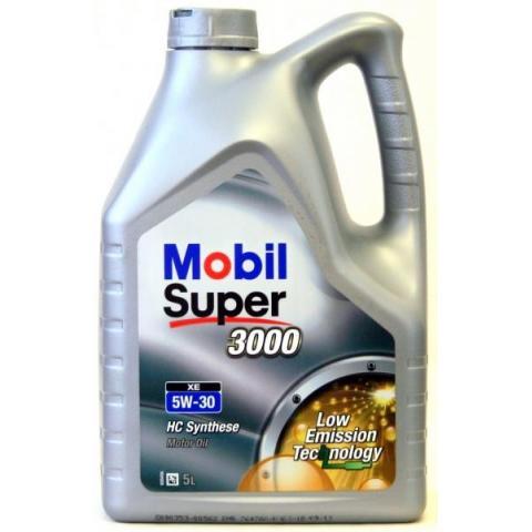 Motorový olej Mobil Super 3000 XE 5w-30 5L.