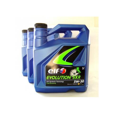 Motorový olej ELF EVOLUTION 900 SXR 5W-30 3x5L