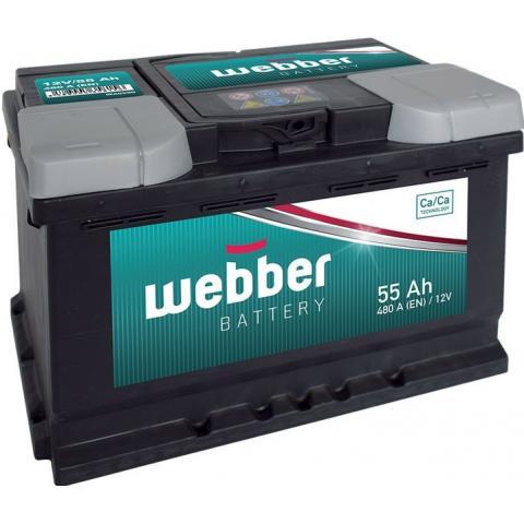 Autobateria Webber 12V 55Ah 460A