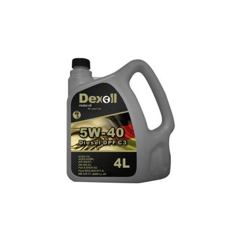 Motorový olej Dexoll 5W-40 A3/B4 4L