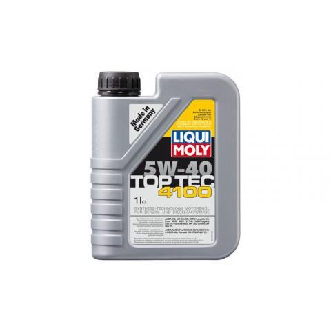 Liqui Moly 3700 Motorový olej TopTec 4100 5W-40 1L