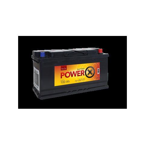 Autobateria PowerX new 12V/100 Ah Ca/Ca