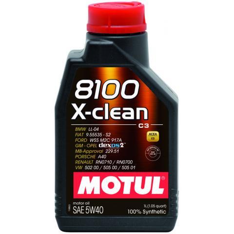 Motorový olej Motul 8100 X-Clean C3 5w40 1L