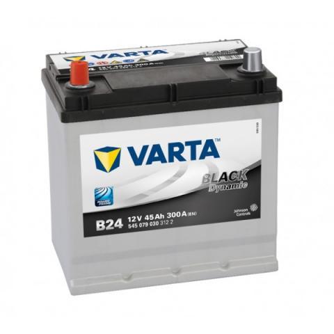 Autobatéria VARTA BLACK dynamic 12V 45Ah 300A B24  ,  545079030