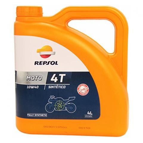 Repsol Moto Sintetico 4T 10W-40 4L.