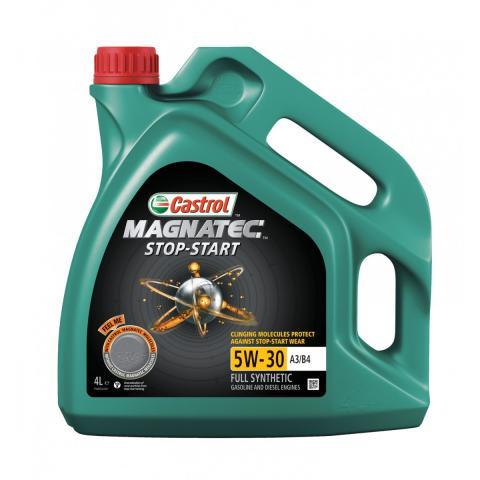 Motorový olej Castrol Magnatec Start Stop A3/B4 5W-30, 4L
