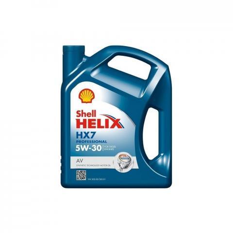 Motorový olej Shell Helix HX7 Professional AV 5W-30 5L.