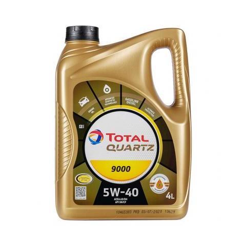 Motorový olej TOTAL QUARTZ 9000  5W-40 4L.