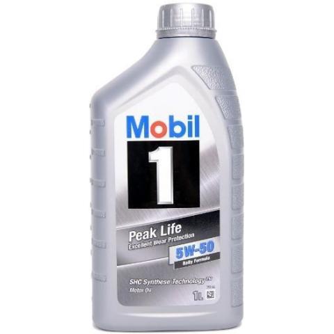 motorový olej Mobil FS X1 Rally Formula (Peak Life) 5W-50 1 l