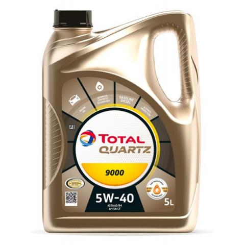 Motorový olej TOTAL QUARTZ  9000 Energy 5W-40 5L.