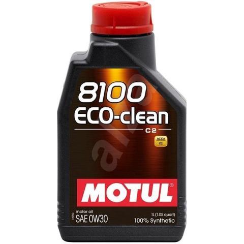 Motorový olej Motul 8100 Eco-clean 0W-30, 1L