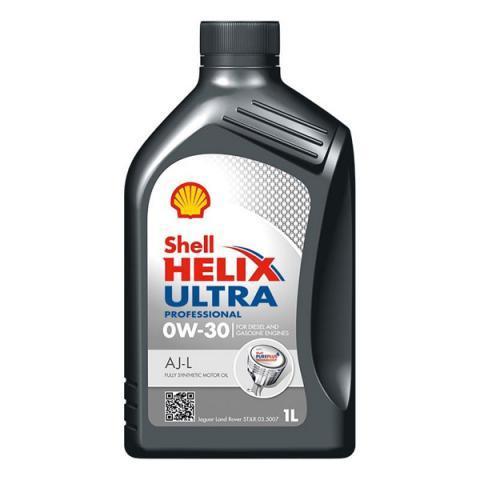 Motorový olej SHELL Helix Ultra Professional AJ-L  0W-30 1L.