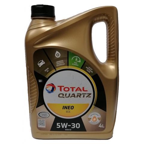 Motorový olej Total Quartz Ineo ECS 5W-30, 4L