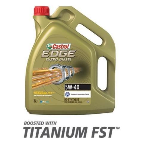 Motorový olej Castrol Edge Turbo Diesel  5W-40 5L.