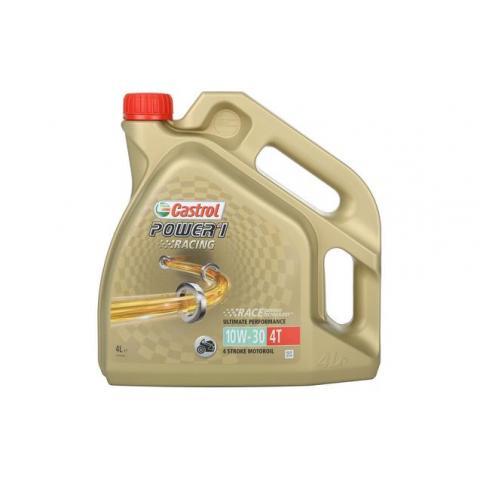 Motorový olej Castrol Power 1 Racing 4T 10W-30 4 l