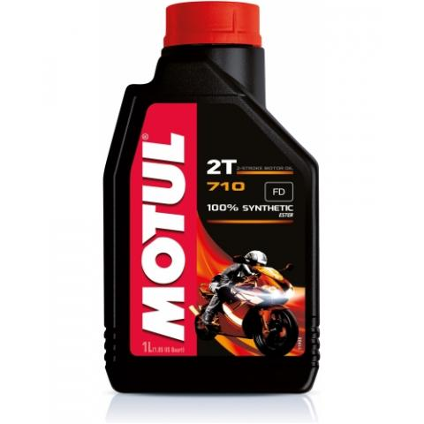 Motorový olej Motul 710 2T 1L.