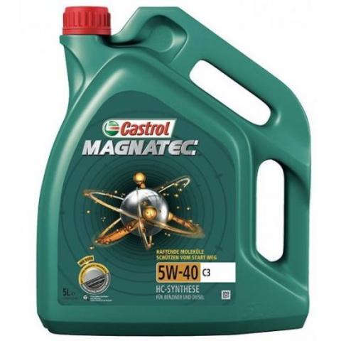 Motorový olej CASTROL MAGNATEC C3 5W-40 5L.