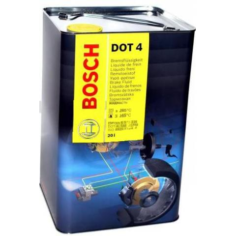 Brzdová kvapalina Bosch 20l.