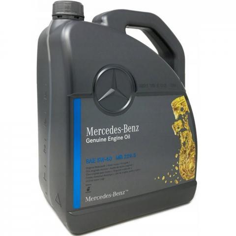 Motorový olej Mercedes Benz MB229.5 5W-40 5L