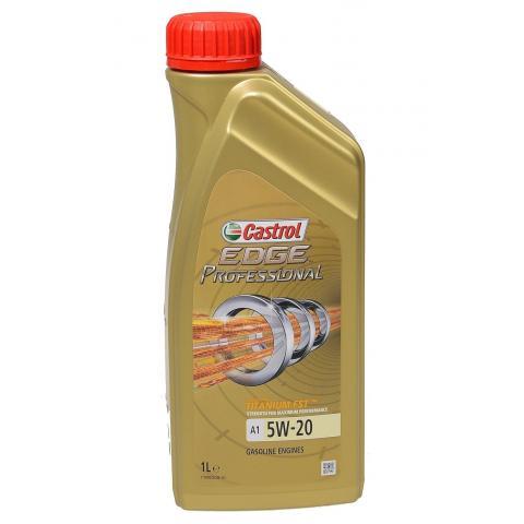 Motorový olej Castrol Edge Professional A1 5W-20 1L.